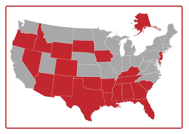 Income Cap States